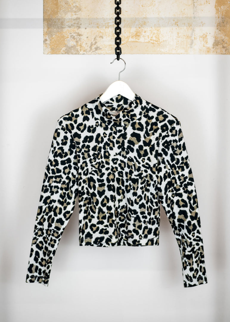Vicky Top Leopard - Corvera Vargas berlin conscious fashion brand. Vicky Top Leopard for women.