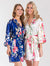 BULK - Minimum 25PC Order only - Print Bridesmaid Satin Robe