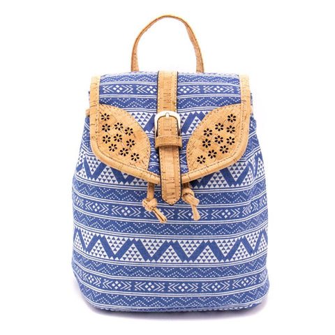 Cork and cotton woman Backpack