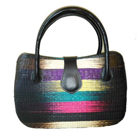 Large Handmade Straw handbag