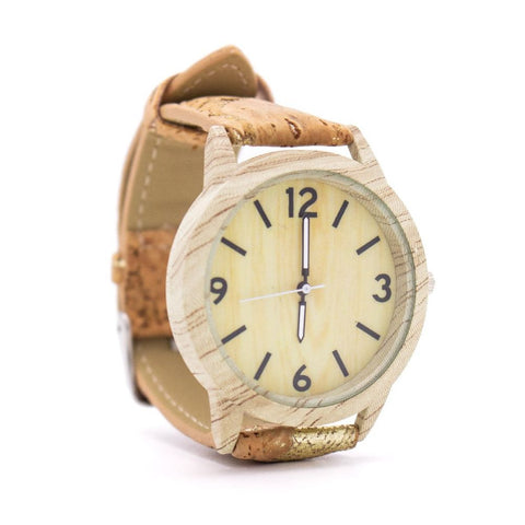 Sparkling cork Ladies Eco watch