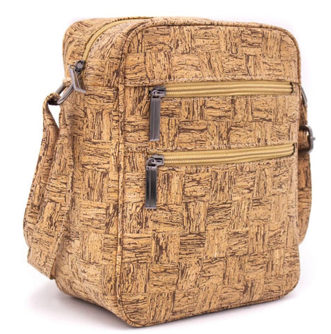 Men messenger Cork bag