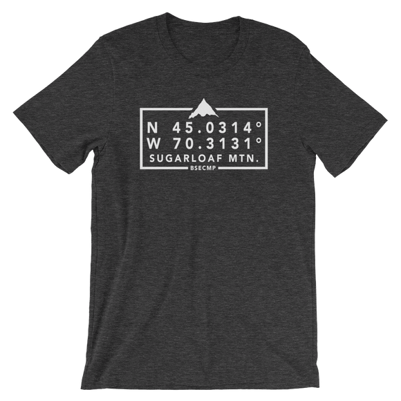 BSECMP Sugarloaf Mtn. Coordinates Tee