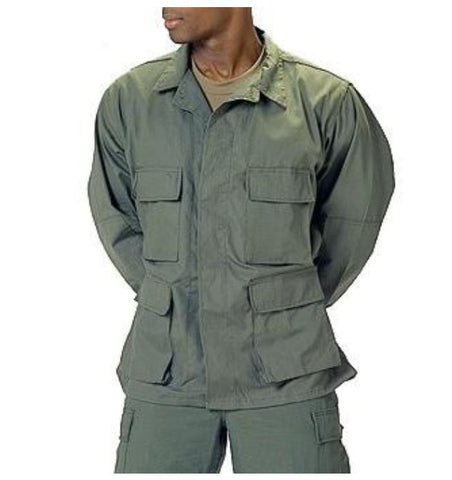 100% Cotton Rip-Stop BDU Shirt - Main