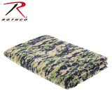 Camo Fleece Blanket - ACU Digital Camo