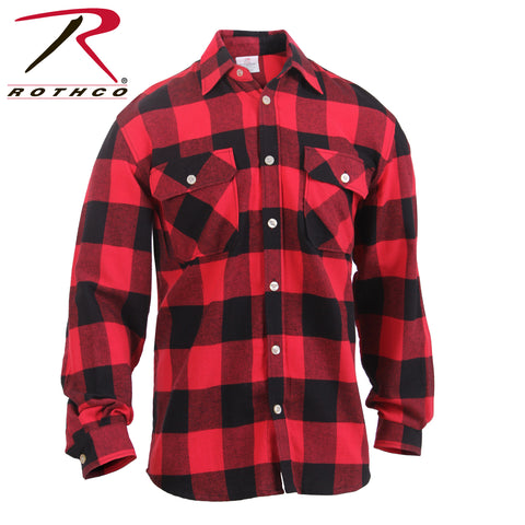 100% Cotton Lightweight Flannel Shirt