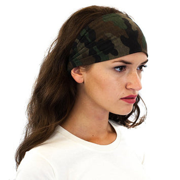 Women's Camo Headband-Main