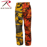 Two-Tone Camo BDU Pants - Women