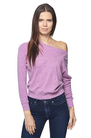 Triblend Long Sleeve Raglan Pullover-Main