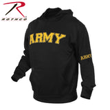Military Licensed Embroidered Pullover Hoodies