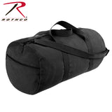 Rothco Canvas Shoulder Duffle Bag - 24 Inch - Black