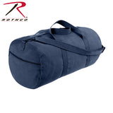 Rothco Canvas Shoulder Duffle Bag - 24 Inch - Navy Blue
