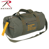 100% Cotton Canvas Equipment Bag - Olive Drab