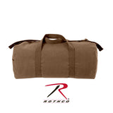 Rothco Canvas Shoulder Duffle Bag - 24 Inch - Earth Brown