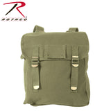 Rothco Heavyweight Canvas Musette Bag - Olive Drab