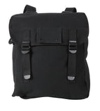 Rothco Heavyweight Canvas Musette Bag - Black