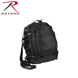 Rothco's Move Out Tactical Travel Backpack - Black