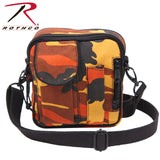 Camo Excursion Organizer Shoulder Bag-Savage Orange