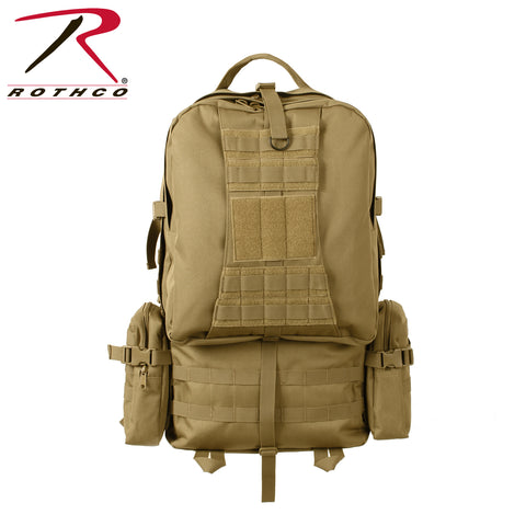Rothco's Global Assault Pack - Coyote Brown