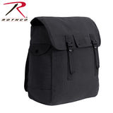 Rothco Canvas Jumbo Musette Bag - Black