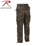 Rothco Mens Vintage Camo Paratrooper Fatigue Pants - Woodland Digital Camo