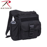Rothco's M.O.L.L.E. compatible XL Advanced Tactical Shoulder Bag - Black