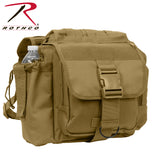 Rothco's M.O.L.L.E. compatible XL Advanced Tactical Shoulder Bag - Coyote Brown