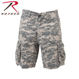 100% Cotton Vintage Camo Infantry Utility Shorts - ACU Digital Camo
