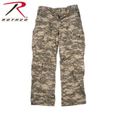 Rothco Mens Vintage Camo Paratrooper Fatigue Pants - ACU Digital Camo