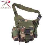 Advanced Tactical Survival Bag - Woodland Camo