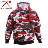 Rothco's Camo Pullover Hooded Sweatshirt - Red Camo