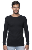 Unisex Heavyweight Thermal Shirt - Black
