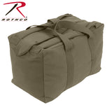 Canvas Mossad Type Tactical Canvas Cargo Bag - Olive Drab