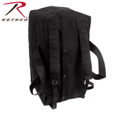 Canvas Mossad Type Tactical Canvas Cargo Bag - Black