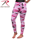 Women's Camo Leggings in Pink Camo
