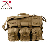 Rothco MOLLE Tactical Laptop Briefcase - Coyote Brown