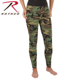 Women's Camo Leggings in Woodland Camo