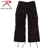 Rothco Womens Vintage Paratrooper Fatigue Pants - Black