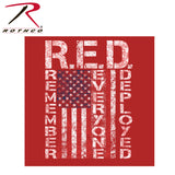 Concealed Carry R.E.D. (Remember Everyone Deployed) Hoodie - Front graphic