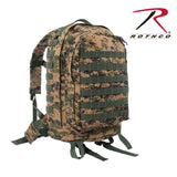 MOLLE II 3-Day Assault Pack - Woodland Digital Camo