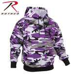 Rothco's Camo Pullover Hooded Sweatshirt - Ultra Violet Camo