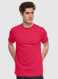 5051ORG Unisex Organic Cotton Tee - Cherry