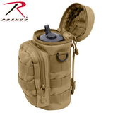 Water Bottle Survival Kit With MOLLE Compatible Pouch - Coyote Brown