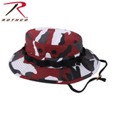 Camo Boonie Hat - Red Camo