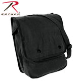 Rothco's Canvas Map Case Shoulder Bag - Black