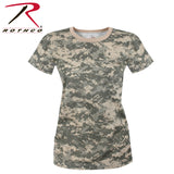 Women's Long Length Camo T-Shirt - ACU Digital Camo