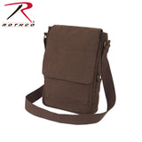 Rothco's Vintage Canvas Military Tech Bag for iPads and notebooks - Brown
