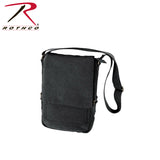Rothco's Vintage Canvas Military Tech Bag for iPads and notebooks - Black