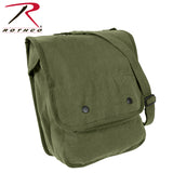 Rothco's Canvas Map Case Shoulder Bag - Olive Drab