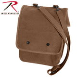 Rothco's Canvas Map Case Shoulder Bag  - Earth Brown